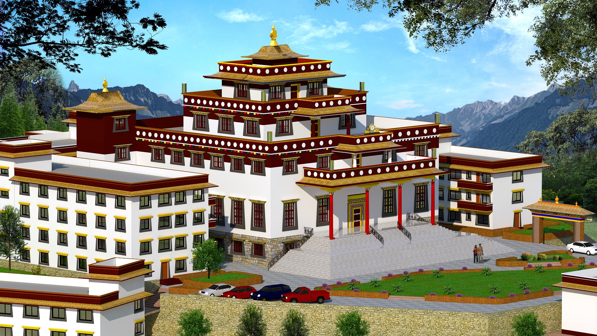 Sankhu School 3d pic1
